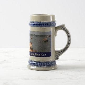 Boat race cup beer steins