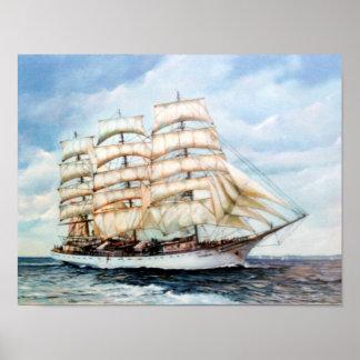 Boat race Cutty Sark/Cutty Sark Tall Ships' RACE Poster