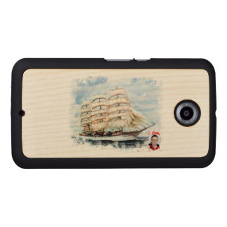 Boat race Cutty Sark/Cutty Sark Tall Ships' RACE Wood Phone Case