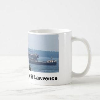 Boat Racing on the St Lawrence Coffee Mug