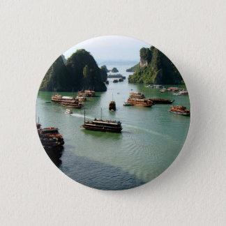 Boat Ride 2 Inch Round Button