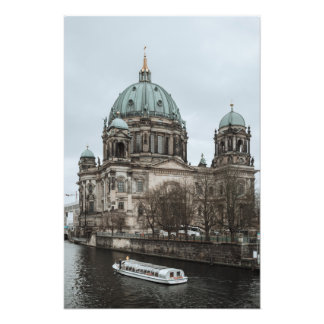 Boat ride in the Spree in Berlin Photo Art