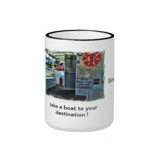 boat ride ringer coffee mug