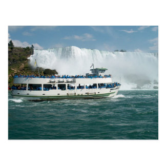 Boat Sail Lake Ontario Niagara River Fallsview fun Postcard