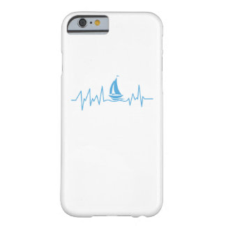 Boat Sailing Gift Heartbeat Funny Sailboat Barely There iPhone 6 Case
