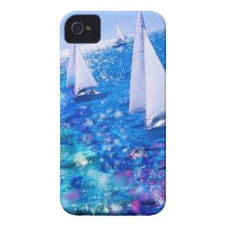 Boat, sea and corals iPhone 4 Case-Mate case