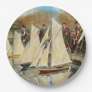 Boat - Sorry kids this ones mine 1910 9 Inch Paper Plate