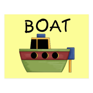 BOAT T-shirts and Gifts Post Card