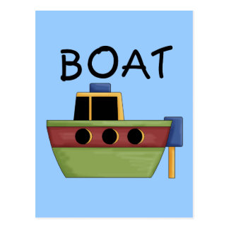BOAT T-shirts and Gifts Postcard