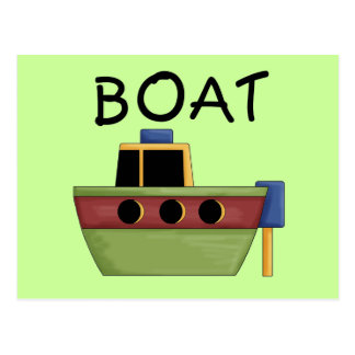 BOAT T-shirts and Gifts Post Cards