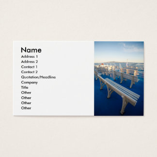 Boat trip business card