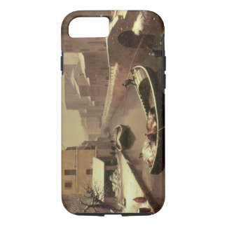 Boat under the Snow iPhone 7 Case