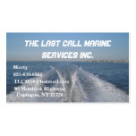 Boat Wake Business Cards