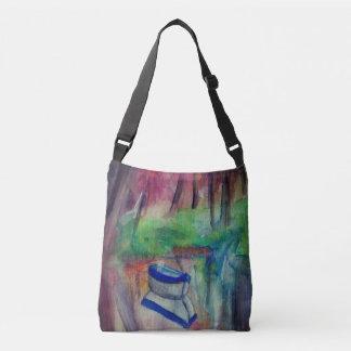 Boat Watercolor  All-Over-Print Cross Body Bag