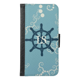 Boat Wheel Samsung Galaxy S6 Wallet Case