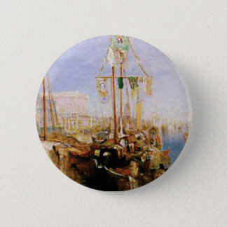 boat without sails 2 inch round button