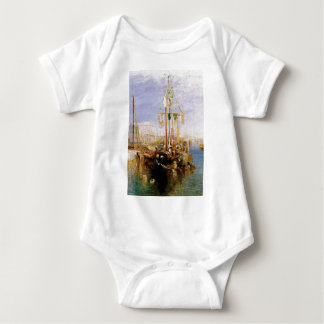 boat without sails baby bodysuit