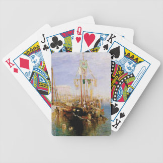 boat without sails bicycle playing cards