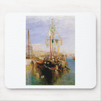 boat without sails mouse pad