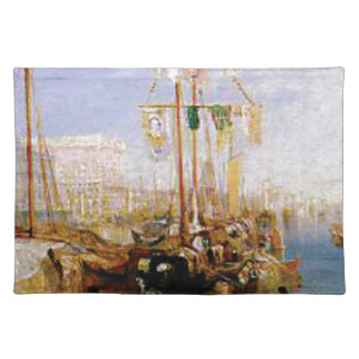 boat without sails placemat