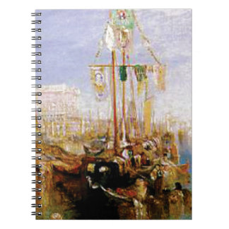 boat without sails spiral notebook