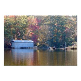 Boathouse on Blount's Creek Photo