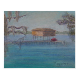 BOATHOUSE ON THE ST. JOHNS RIVER Poster