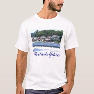 Boathouse Row 2 - Philadelphia T-Shirt
