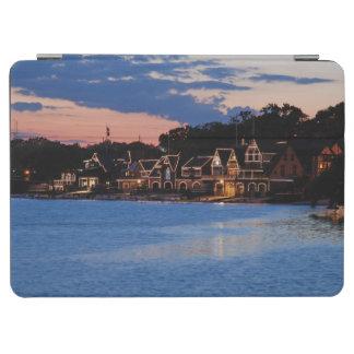 Boathouse Row dusk iPad Air Cover
