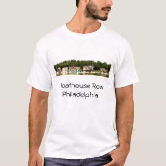 Boathouse Row Panorama T-Shirt