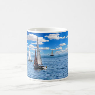Boating Canoe Kayak Sailboat Boat Mug