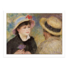 Boating Couple by Renoir Postcard