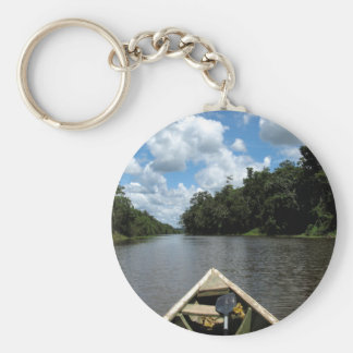 Boating down the Amazon Keychain