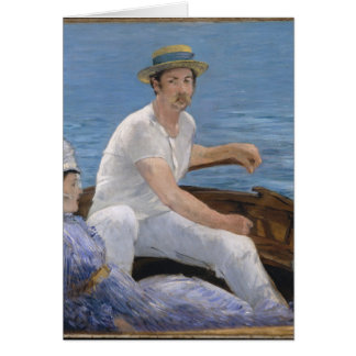 Boating - Édouard Manet Card