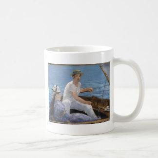 Boating - Édouard Manet Coffee Mug