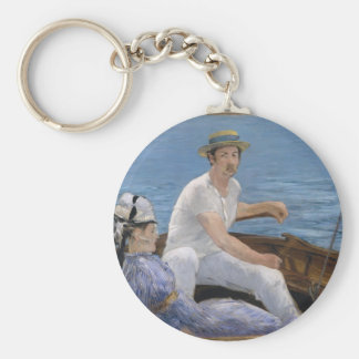 Boating - Édouard Manet Keychain