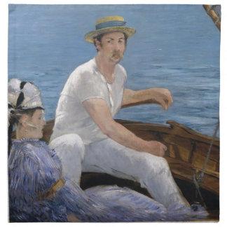 Boating - Édouard Manet Napkin