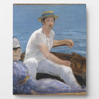 Boating - Édouard Manet Plaque