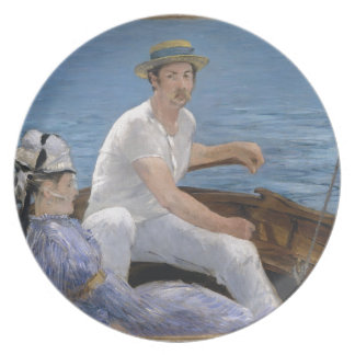 Boating - Édouard Manet Plate
