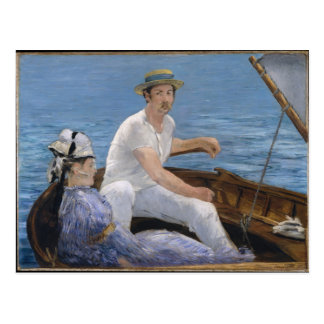 Boating - Édouard Manet Postcard
