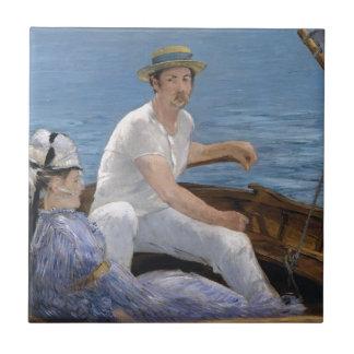 Boating - Édouard Manet Tile