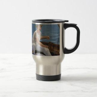 Boating - Édouard Manet Travel Mug