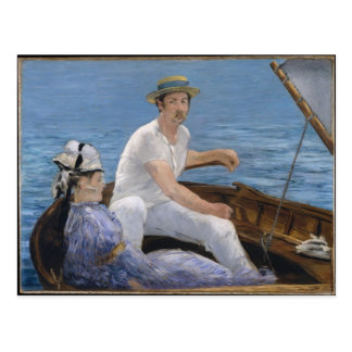 Boating - Edouard Manet Postcard
