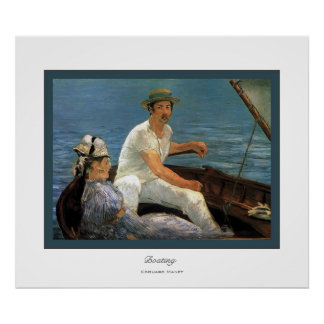Boating ~ Edouard Manet Poster