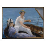 Boating - Edouard Manet Poster