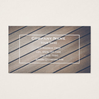 Boating Maintenance Business Card