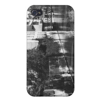 Boating on the river Gera at Erfurt iPhone 4 Case