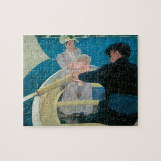 Boating Party by Mary Cassatt, Vintage Fine Art Jigsaw Puzzle