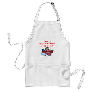 boating standard apron