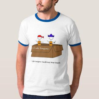 boatreggattalogobig, Lake Saugany Cardboard Boa... T-Shirt